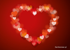 Kartka pełna miłości