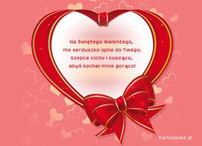 eKartki Miłość - Walentynki Kochaj mnie gorąco,
