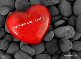eKartki Miłość - Walentynki Kocham Cię i już,