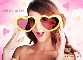 eKartki Miłość - Walentynki Mam Cię na oku,
