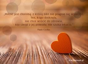 eKartki Miłość - Walentynki Miłość jest chorobą,