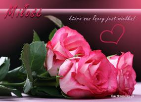 eKartki Miłość - Walentynki Miłość, która nas łączy,