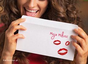 eKartki Miłość - Walentynki Moja Miłość,