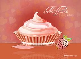 eKartki Miłość - Walentynki Muffinka na Walentynki,