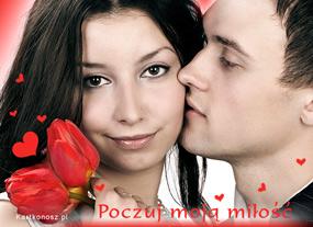 eKartki Miłość - Walentynki Poczuj moją miłość,