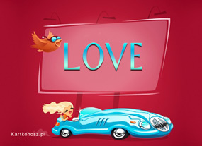 eKartki Miłość - Walentynki Pogoń za miłością,