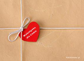 eKartki Miłość - Walentynki Przesyłka - Walentynka,