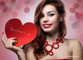 eKartki Miłość - Walentynki Serce dla Ciebie,