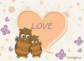 eKartki Miłość - Walentynki Serce pełne miłości,