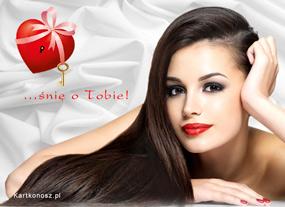 eKartki Miłość - Walentynki Śnię o Tobie,