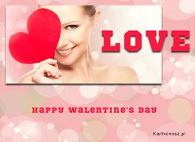 eKartki Miłość - Walentynki Walentynkowa kartka,