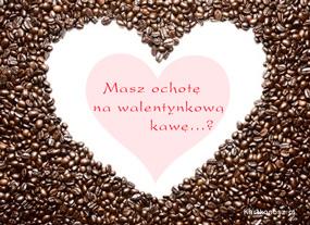eKartki Miłość - Walentynki Walentynkowa kawa,