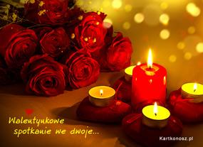 eKartki Miłość - Walentynki Walentynkowe spotkanie,