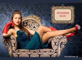 eKartki Miłość - Walentynki Walentynkowy wieczór,