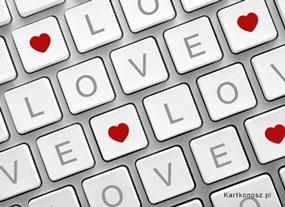 eKartki Miłość - Walentynki Wszechobecna miłość,