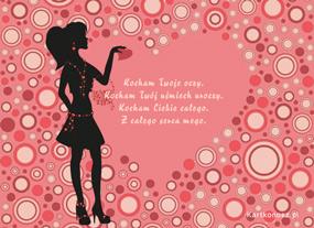 eKartki Miłość - Walentynki Wszystko w Tobie kocham,
