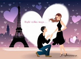 eKartki Miłość - Walentynki Bądź tylko moja,