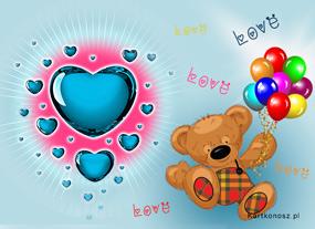 e Kartki Miłość - Walentynki Dla ukochanej,