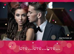 eKartki Miłość - Walentynki Kartka miłość,