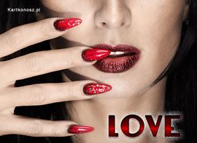 e Kartki Miłość - Walentynki Love,