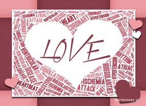 eKartki Miłość - Walentynki Miłosna gazetka,