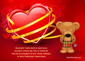 eKartki Miłość - Walentynki Miłosny sekret,