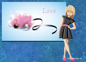 e Kartki  z tagiem: e-Kartka na Walentynki Nieśmiało zakochana,