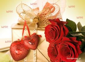 e Kartki Miłość - Walentynki Prezent na Walentynki,