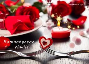 e Kartki  z tagiem: Darmowe kartki na Walentynki Romantyczne chwile,
