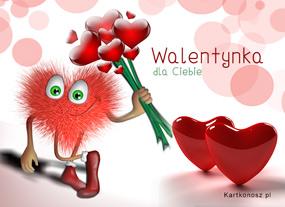 e Kartki  z tagiem: e-Kartki walentynkowe Walentynka dla Ciebie,
