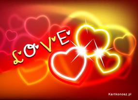e Kartki Miłość - Walentynki Wszechobecna miłość,