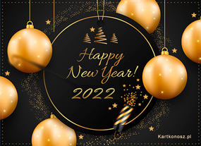 e Kartki  z tagiem: Kartki na Nowy Rok Happy New Year 2019,