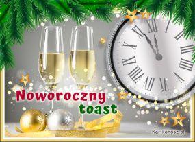 e Kartki  z tagiem: Kartki na święta Noworoczny toast,