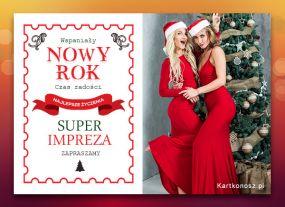 eKartki Nowy Rok Super impreza,