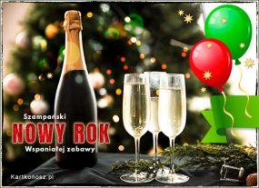 Szampański Nowy Rok