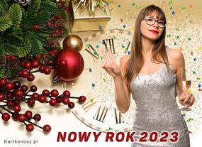 e Kartki  z tagiem: e-Kartka noworoczna Toast na Nowy Rok 2019,