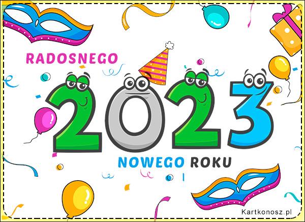 Radosnego Nowego Roku 2021