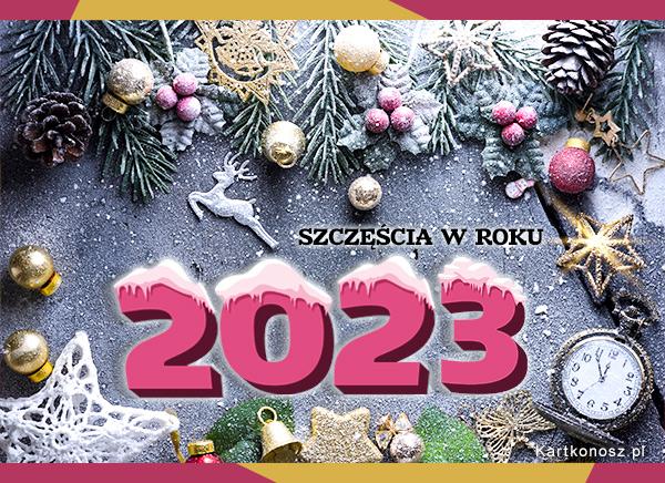 Szczęścia w Roku 2020