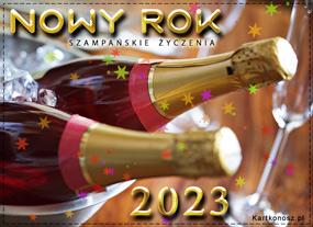 eKartki Nowy Rok Mrożone szampany noworoczne,