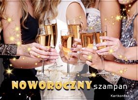 Noworoczny szampan