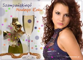eKartki Nowy Rok Szampańska kartka,