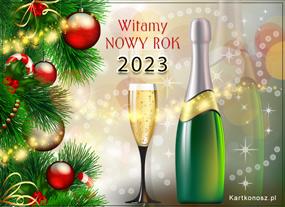 Szampańskie powitanie Nowego Roku 2021