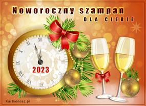 eKartki Nowy Rok Szampańskie życzenia noworoczne,
