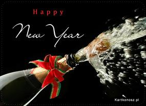 eKartki Nowy Rok Wystrzałowego Nowego Roku,