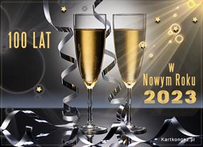 100 lat w Nowym Roku