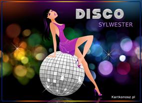 eKartki Nowy Rok Disco Sylwster,