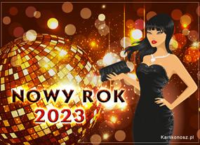 Kartka na Nowy Rok 2020