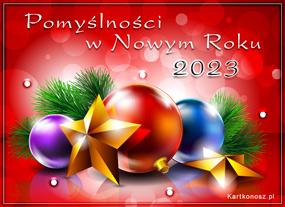 eKartki Nowy Rok Noworoczne pomyślności,