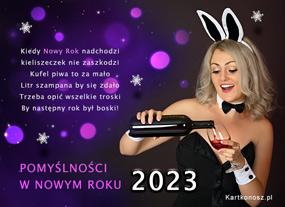 Pomyślności w Nowym Roku 2020