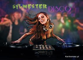 e Kartki Nowy Rok Sylwester Disco,